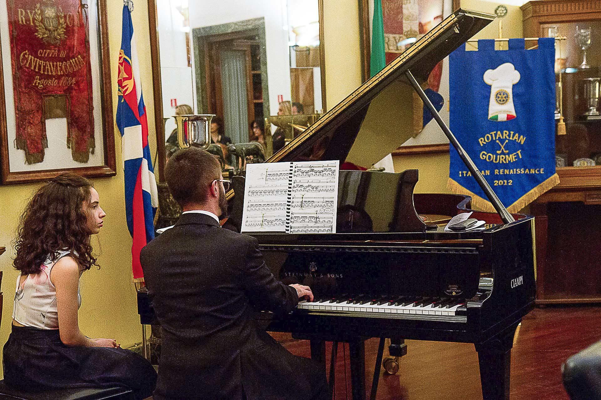Un momento del concerto - Foto Annamaria Mazzei