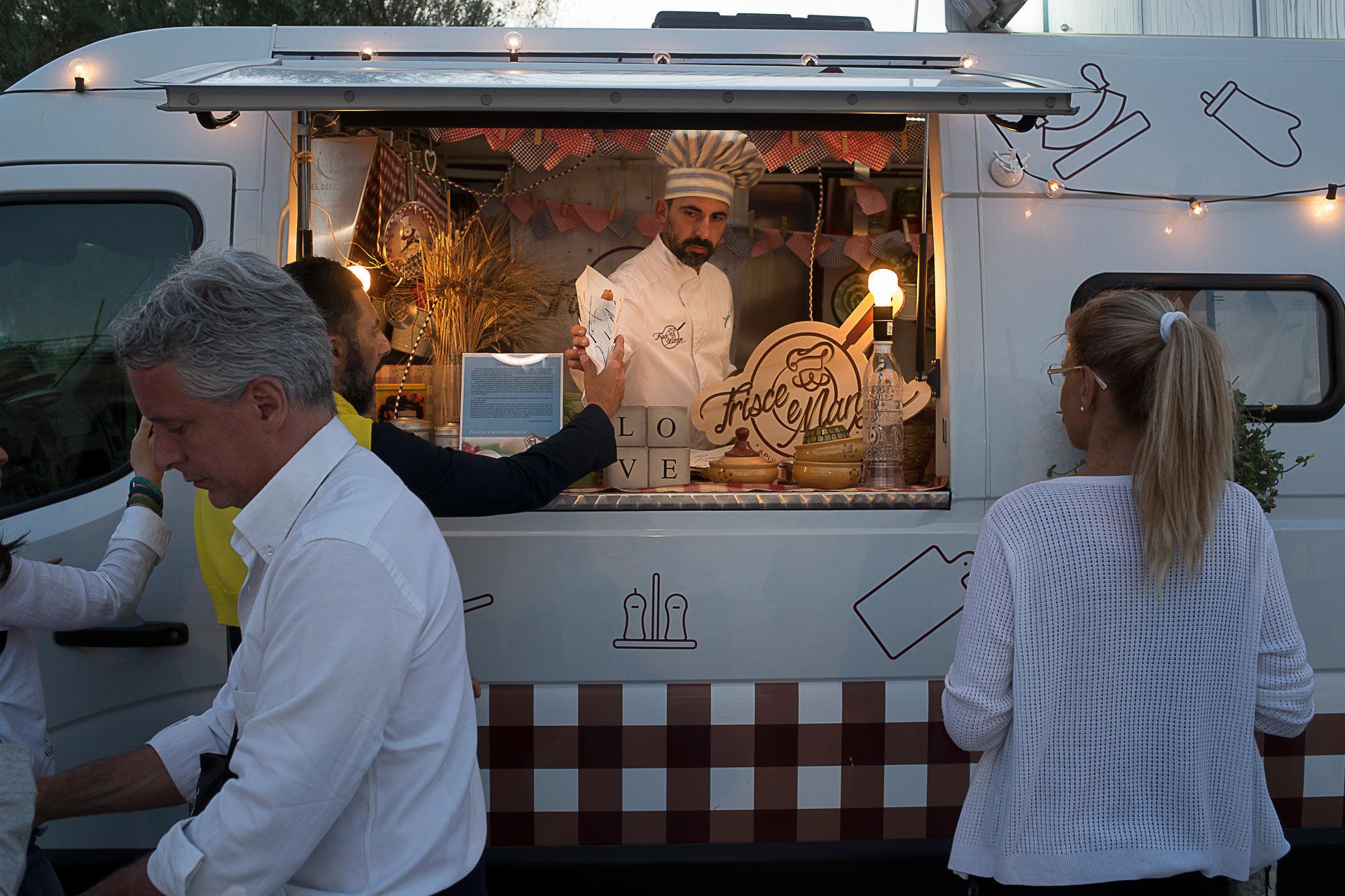 Frisce e magne nell'area street food