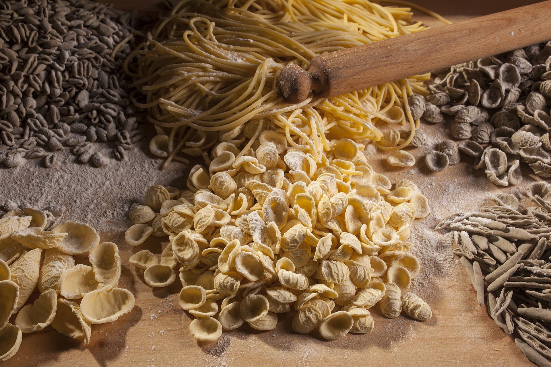Varietà di pasta fatta a mano