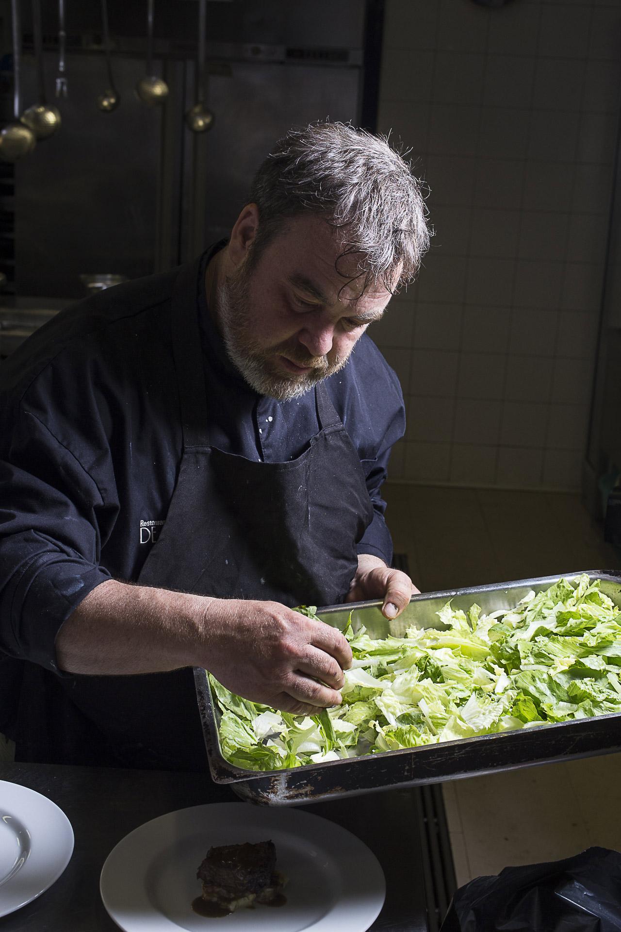 Lo chef Fabio Baldassarre