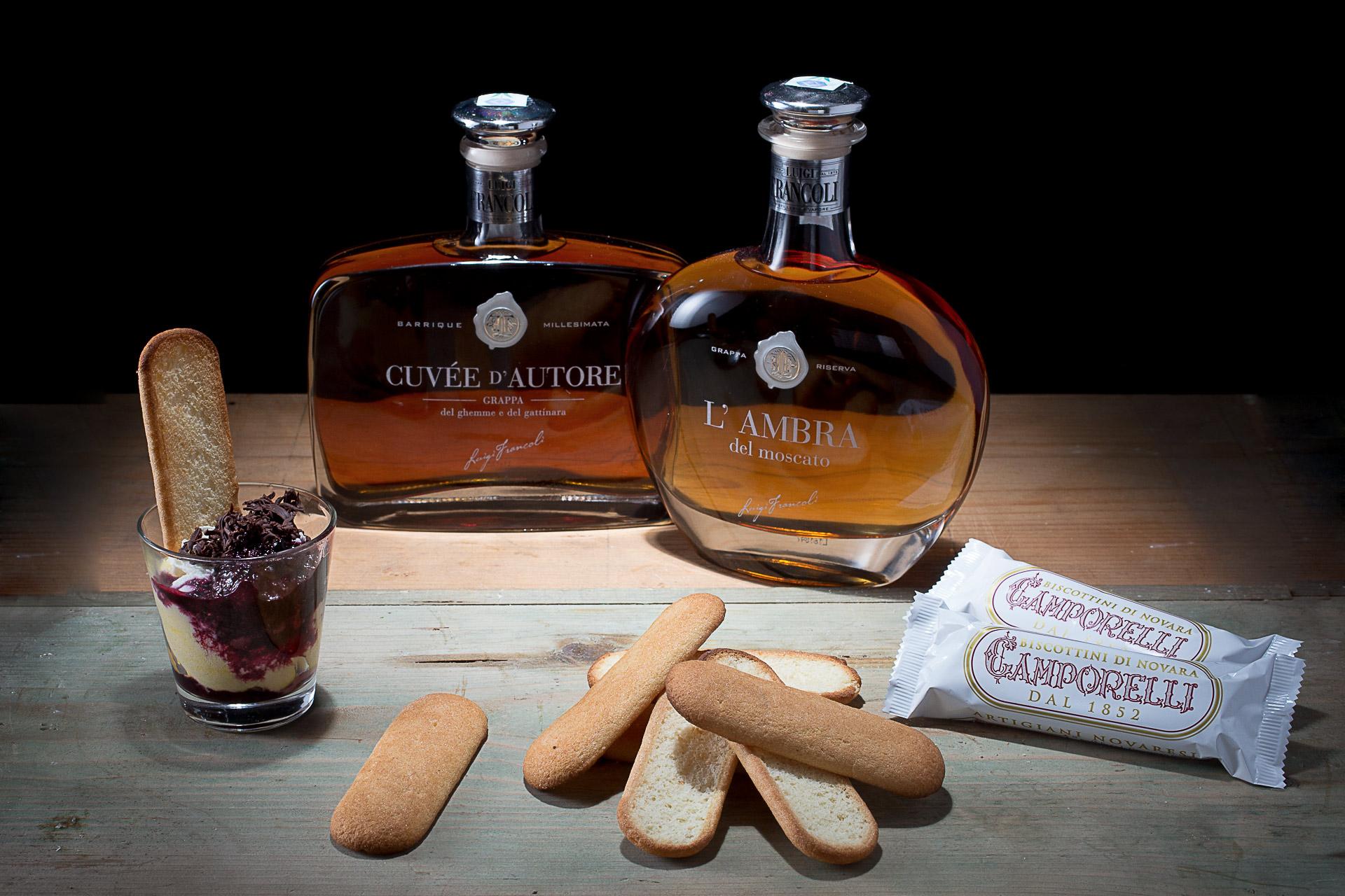 Grappe Francòli e biscotti Camporelli
