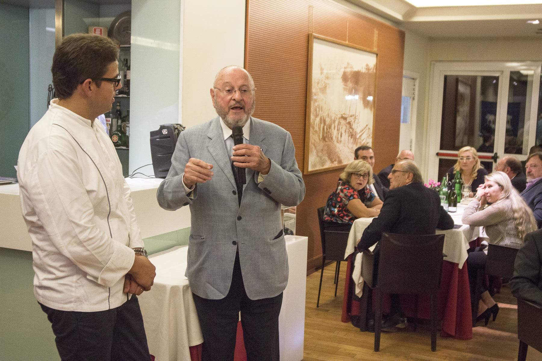 Ulisse Vivarelli ha giudicato la cucina di Luca Mastromattei promuovendolo a pieni voti